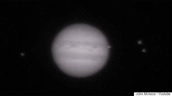 木星に300mクラスの小惑星が衝突、大爆発の瞬間の撮影に成功【動画】