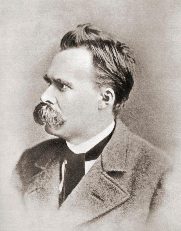 ドイツの哲学者フリードリヒ・ニーチェ(1844年〜1900年)