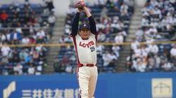 村田兆治さんが始球式に登板、驚きの球速【動画】