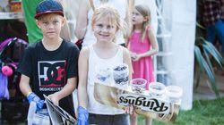 子どもがゴミ拾い 世界一エコなノルウェーの音楽祭