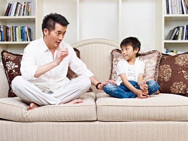 父息子の会話 イメージ写真