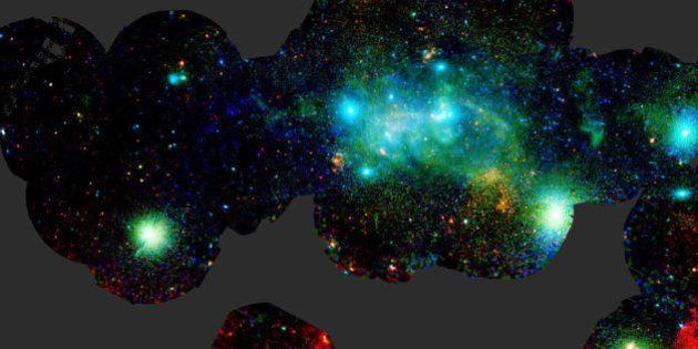 銀河系の中心にあるブラックホールを見てみたくないかい?(画像)