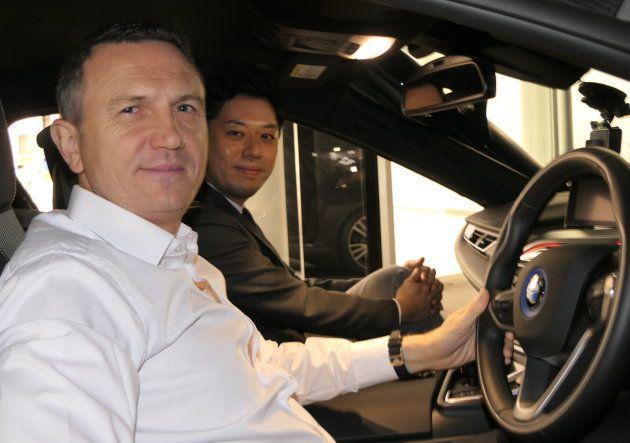 前代未聞のドライビング・インタビュー。BMWジャパン社長に「BMW