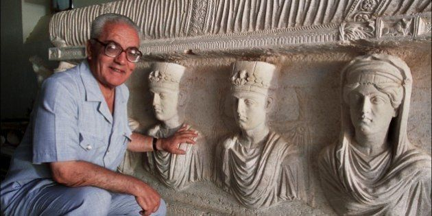SYRIA - SEPTEMBER 01: Palmyra's Last Treasures in Syria in September, 2002 - Khaled al-Asaad, the Director...