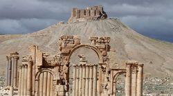 パルミラ遺跡の古代神殿を爆破 ISが世界遺産を破壊