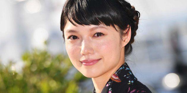 フランス・カンヌで行われた世界最大級の映像コンテンツ国際見本市「MIPCOM」に出席した女優の宮崎あおいさん(2017年10月17日撮影)