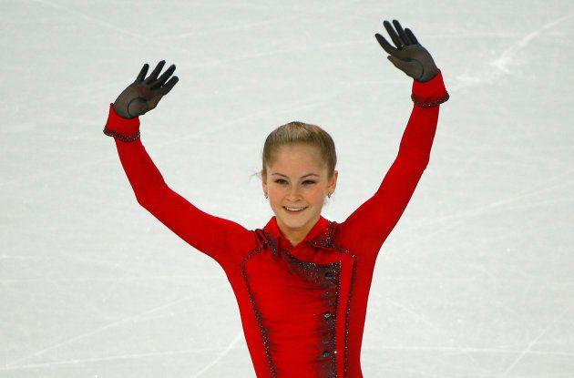 ソチ五輪に出場するリプニツカヤさん=2014年、ソチ