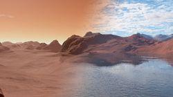 地球と火星の表面の水がたどった異なる運命