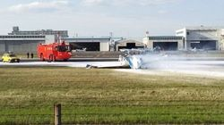 八尾空港で小型機墜落 4人死亡【大阪】