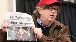 マイケル・ムーア監督、ワシントンポストを引き裂く「『トランプ、権力を握る』だと?そうは思わないな!」