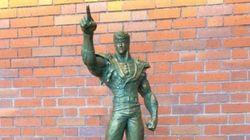 【北斗の拳】ケンシロウの銅像が「新函館
