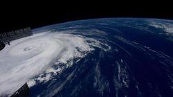油井亀美也さん「どうか、皆様ご無事で」日本に迫る台風の写真を投稿
