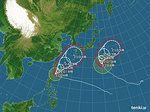 【台風情報】台風15号、16号 来週にかけて警戒