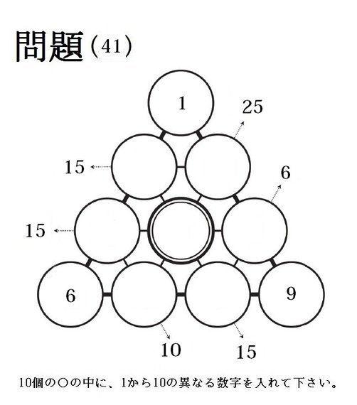 三角パズルに挑戦! 第21回