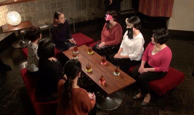 番組は、シェリーさんの司会のもと、当事者、取材者、専門家が出演して、赤裸々な体験談をもとに議論を深めていく