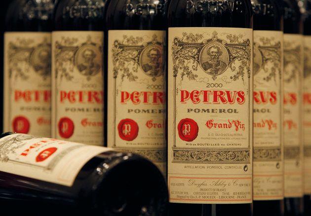 世界で最も有名なワインの1つである「シャトー・ペトリュス」。(醸造年などは番組で使われたワインと異なる可能性があります)