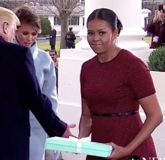 ミシェル・オバマ夫人に「ねぇねぇ今どんな気持ち?」と聞く必要はなかった(画像)