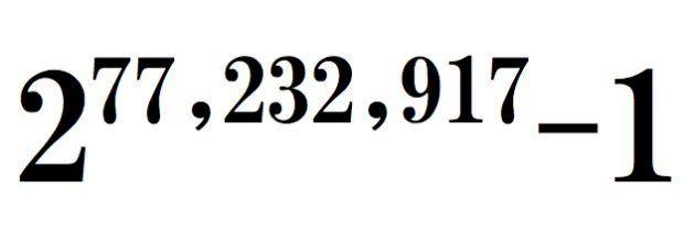 史上最大の素数を発見。50番目となるメルセンヌ素数は、原稿用紙5万8000枚分