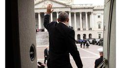 オバマ大統領、ホワイトハウスを去る