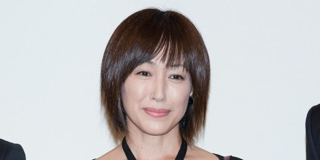 SEOUL, SOUTH KOREA - SEPTEMBER 14: Japanese actress Reiko Takashima attends the wedding of Bae Soo-Bin...