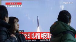 北朝鮮、ミサイル発射 沖縄上空を通過(UPDATE)
