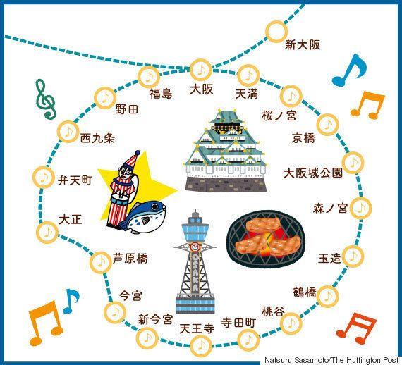 【クイズ】aiko、大塚愛、たかじん...大阪環状線の発車メロディーがおもろい(関西人は常識)