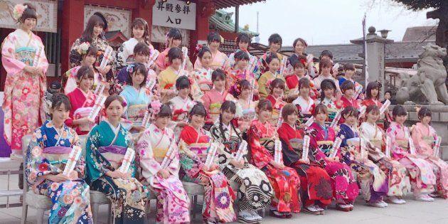HKT48 宮脇咲良さんの投稿より /