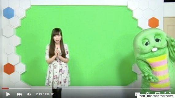 ガチャピン、放送事故で透明に。松雪彩花アナのフォローに「神対応」の声