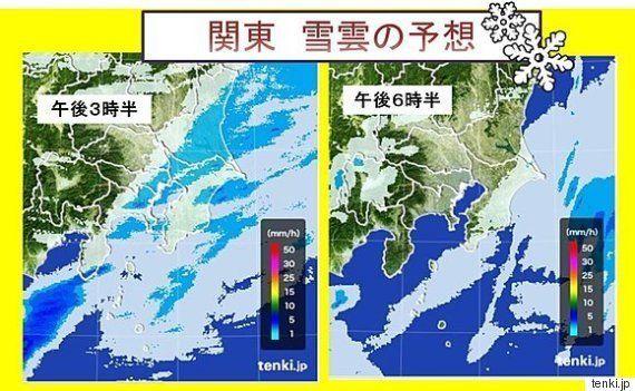 東京の雪 帰宅時の影響は?