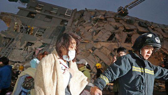 台湾南部で大地震、台南市では7つのビルが崩壊などの被害【UPDATE】