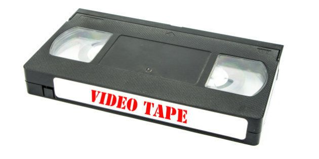 video tape isolated on