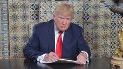 トランプ次期大統領「就任演説の原稿執筆中」とツイート⇒皮肉る人が続出