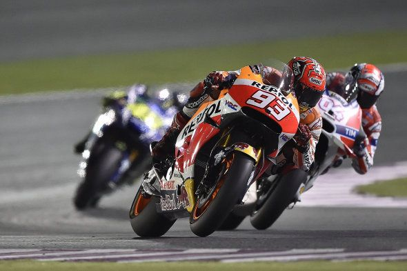 【MotoGP】ロレンソがポールポジションから優勝