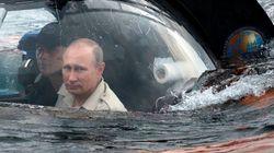 プーチン大統領、潜水艇で沈没船見てうれしそう「つぼが散乱してる」【動画】
