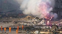 天津爆発の爆心地から神経ガス検出