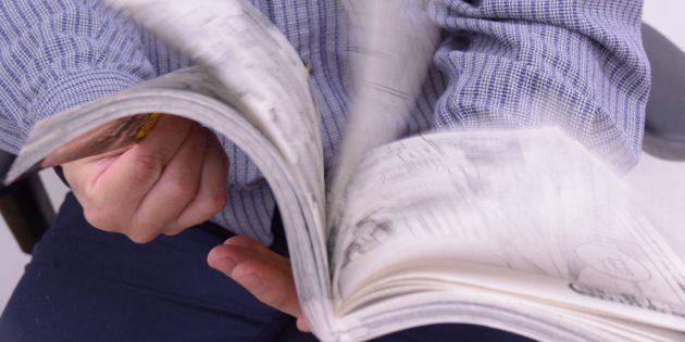 こんな風にマンガが読めなくなったら……(写真はイメージ)