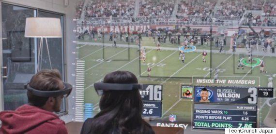 未来はすぐそこに。VR(拡張現実)技術が、スポーツ観戦を全く違うものにするかもしれない(動画あり)