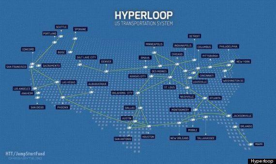 テスラCEO イーロン・マスク氏が構想する超高速列車「ハイパーループ」とは?