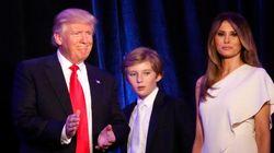 トランプ次期大統領、家族と別居?