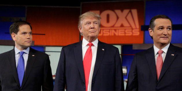 Republican presidential candidate, Sen. Marco Rubio, R-Fla., Republican presidential candidate, businessman...
