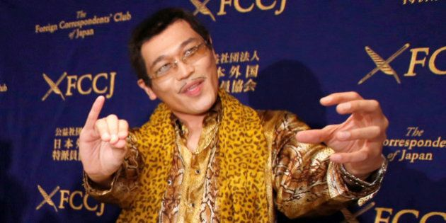 Japanese singer and song writer Pikotaro, also known by his comedian name Kosaka Daimaou or his real...