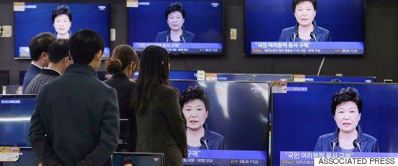 韓国・朴槿恵大統領を支持する「5%」の人々が対抗集会 参加者には報酬も?(動画・画像)