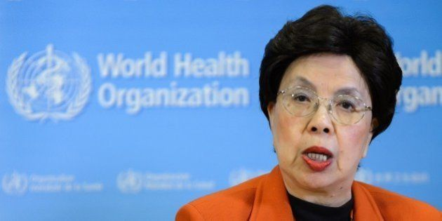 World Health Organization (WHO) chief Margaret Chan attends a press conference on February 1, 2016 in...