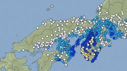 【地震情報】大阪・奈良などで震度4 震源は和歌山県南部