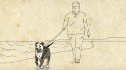 レスキュー犬との出会いが、余命5年の男性の人生を180度変えた(動画)