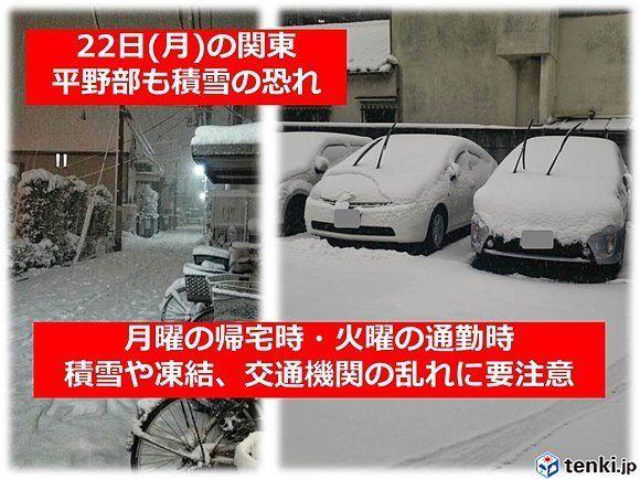 2014年2月14日の大雪(練馬区内にて撮影)