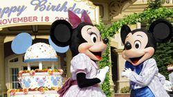 ミッキーとミニー「誕生日」デートの動画公開。何歳になった?