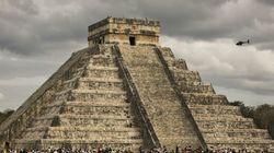 マヤ文明「チチェン・イッツァ」のピラミッド内部に小さなピラミッド「まるでマトリョーシカだ」