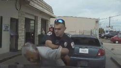 76歳の男性にスタンガンを連射 テキサス州の警察官(動画)