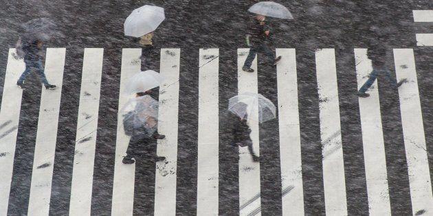 東京を襲った大雪